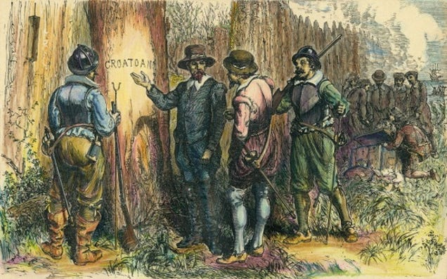 No, archeologists haven't found the lost colony of Roanoke