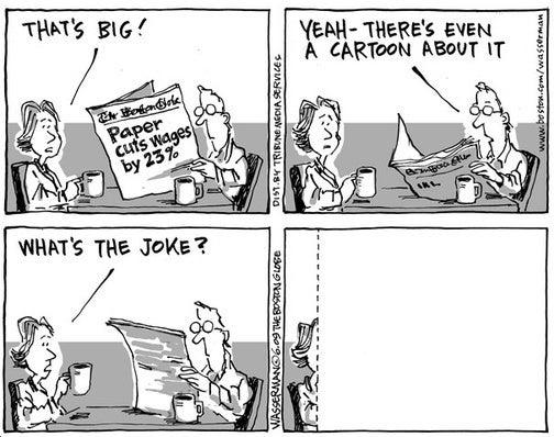 Boston Globe's 'Friendly' Joke