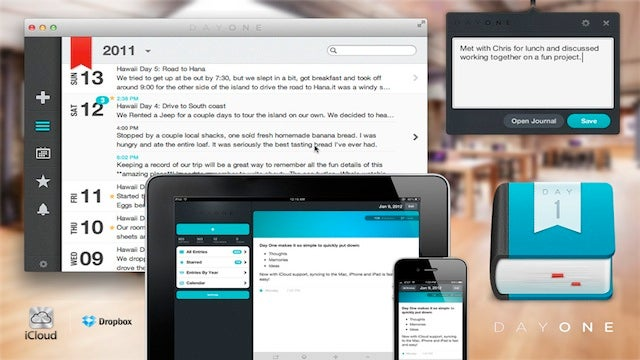 Day One for Mac and iOS Is a Gorgeous Journaling Tool that Encourages Daily Writing