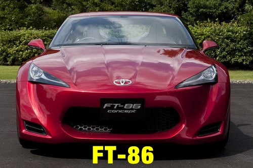 Toyota FT-86: Looking To The Future Up Front