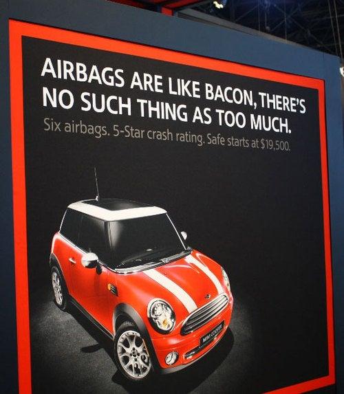 Bacon Still Tastes Better Than Airbags