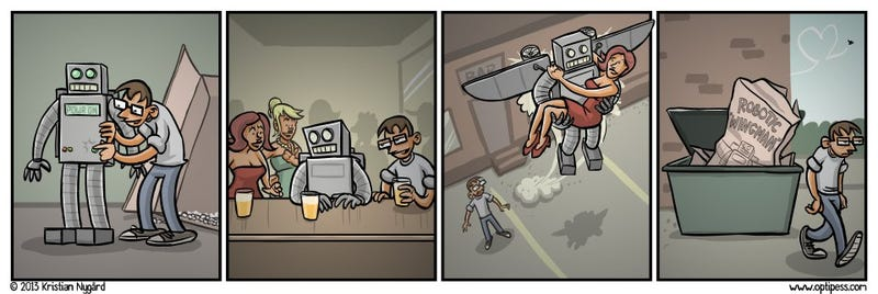 Great, now I have to worry about killer robots