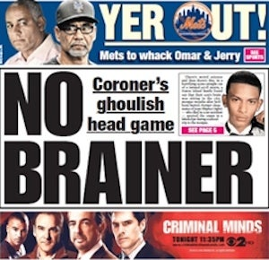 Another Family Accuses New York Medical Examiner of Creepy Brain Removal
