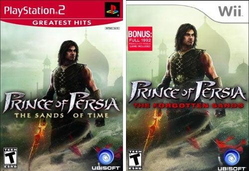 Ubisoft Ruins Prince Of Persia Box Art