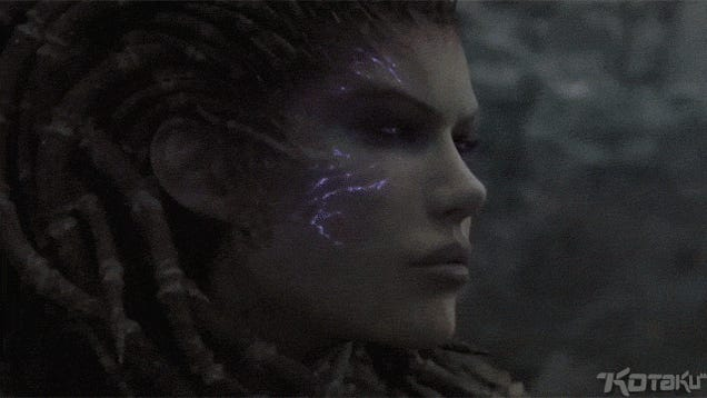 5 GIFs Of Kerrigan Destroying Everything In Starcraft II: Heart Of The Swarm's Opening