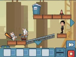 Rabbids Go Home On The DS