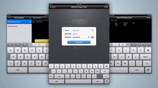 Prompt Is an Elegant and Feature-Rich SSH Client for Your iPad, iPhone, and iPod touch