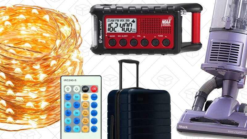 Sunday's Best Deals: Your Favorite Vacuum, String Lights, Away Luggage