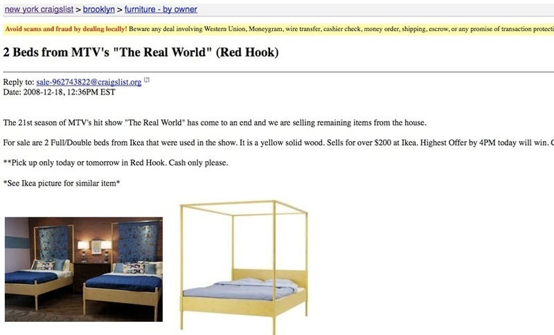 Buy the Luv-Beds from the Real World Brooklyn