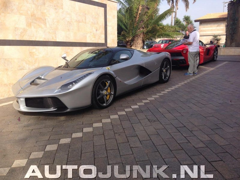Silver LaFerrari is epic despite its stupid name