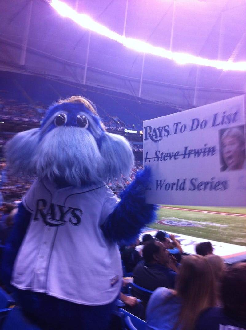 The Rays Killed Steve Irwin, And The American League Is Next [UPDATES]