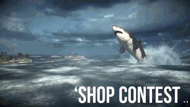 Kotaku 'Shop Contest: Hide The Megalodon