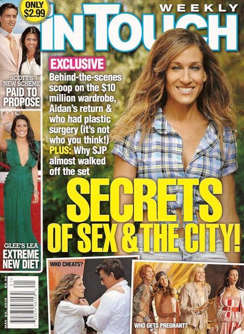 This Week In Tabloids: SATC 2 Spoilers & James Franco's Homoerotic Film