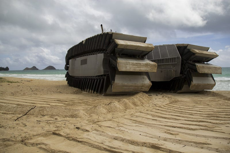 US Marines Turned A Ship Into A Truck, Watch It Be An Absolute Beast