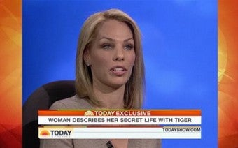 """I Felt Like I Needed To Defend Myself"": Tiger's Latest Mistress On Today"