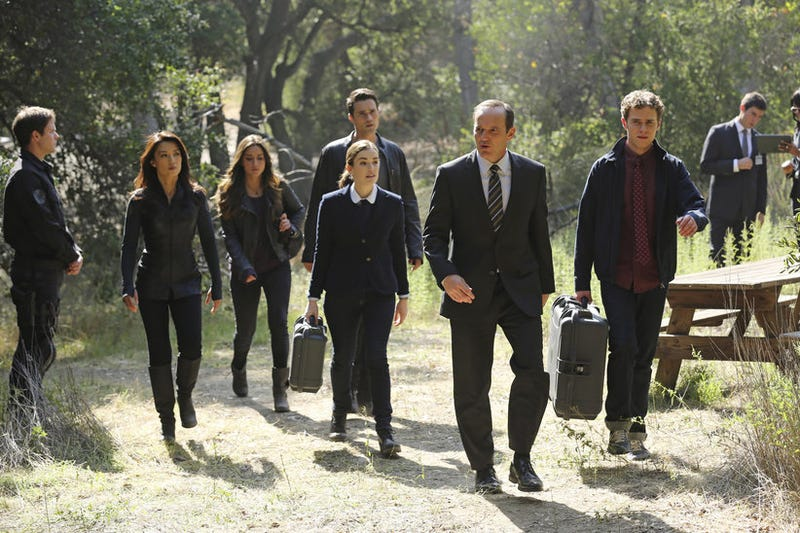Half of last night's Agents of SHIELD was its best episode yet