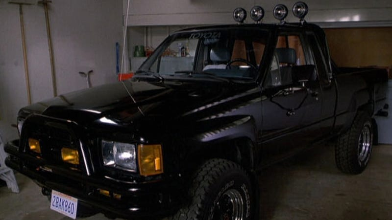 marty mcfly s toyota truck getting restored after possibly