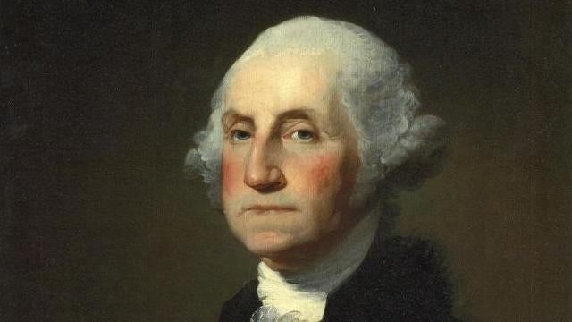 Was George Washington the victim of 18th century airbrushing?