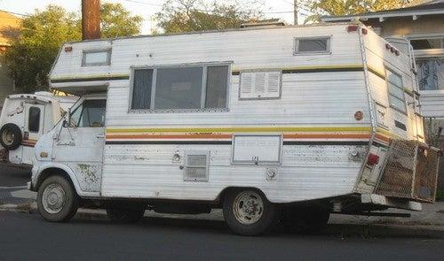 1972 Ford Econoline Camper Down On The Alameda Street