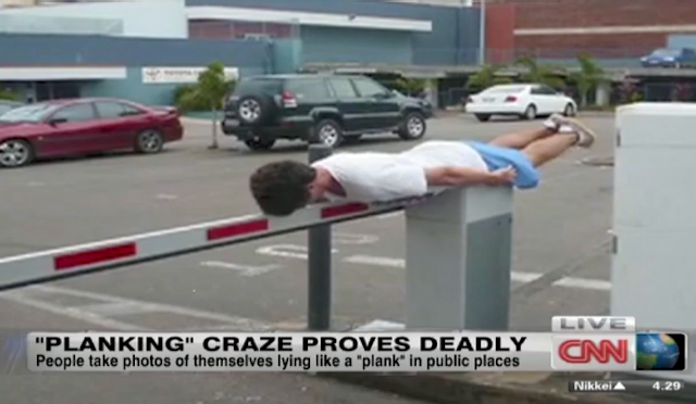 Will the Media Ever Stop Forcing the Planking Craze?
