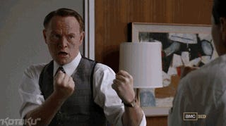 These Gifs Prove That Mad Men Would Make For a Fantastic Video Game