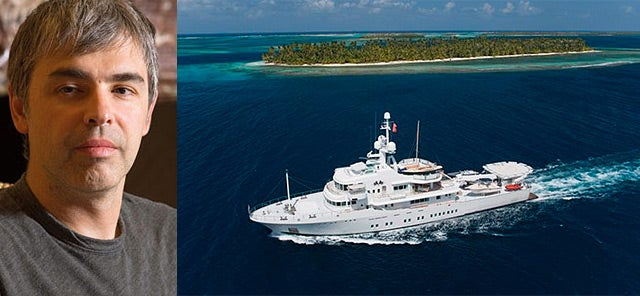 Tour a Google Founder's New Superyacht