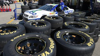 Are NASCAR Teams Drilling Holes In Their Own Tires?