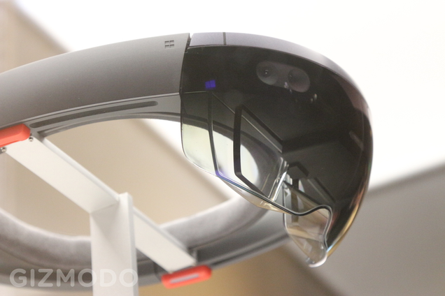 This Is What Microsoft's HoloLens Looks Like In Person