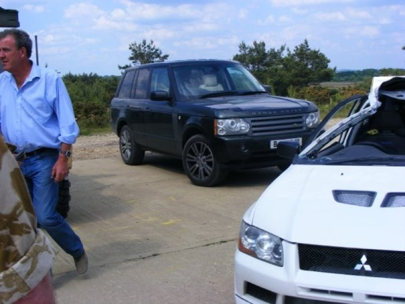 Mitsubishi Evo Destroyed Filming Top Gear Season 13