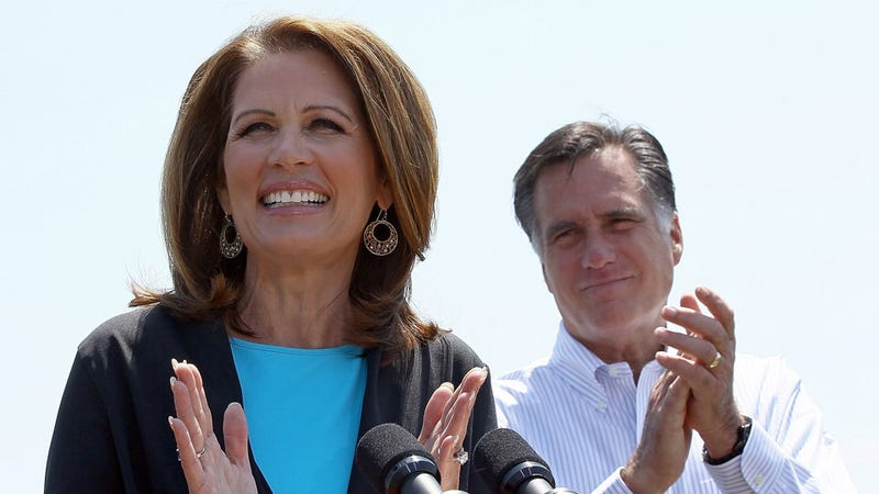 Michele Bachmann Tells Tale of a Faraway Land Where All Ladies Love Mitt Romney