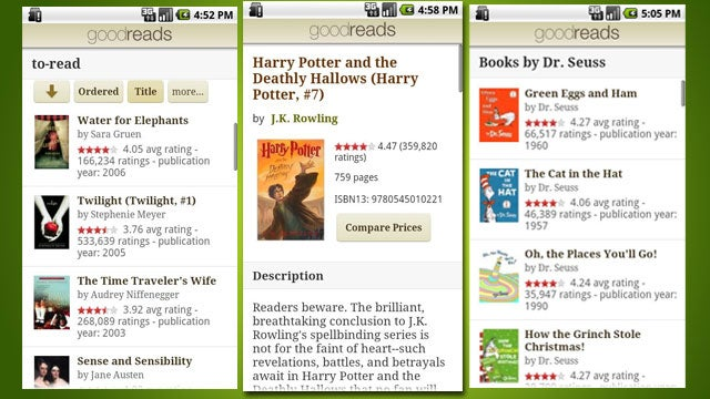 Goodreads Brings Book Recommendations to Android