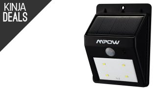 This Solar-Powered Security Light is Only $11 Today