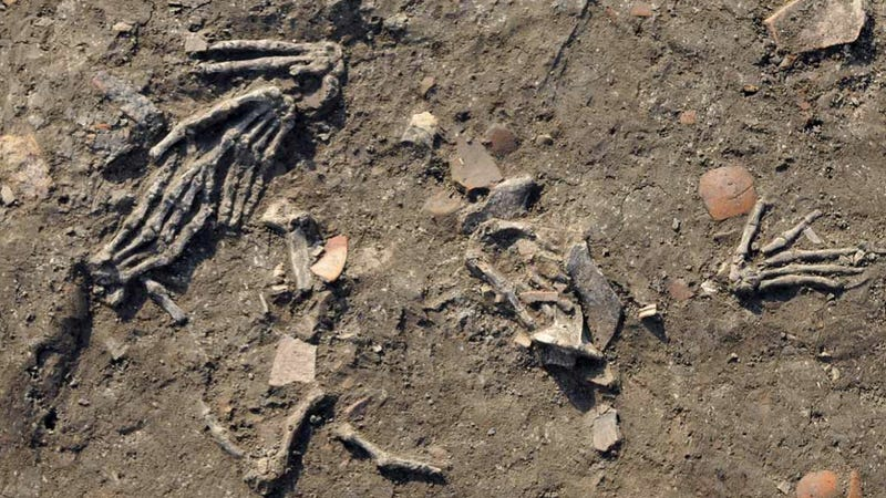 An archaeological first: sixteen severed hands found buried in ancient Egyptian city