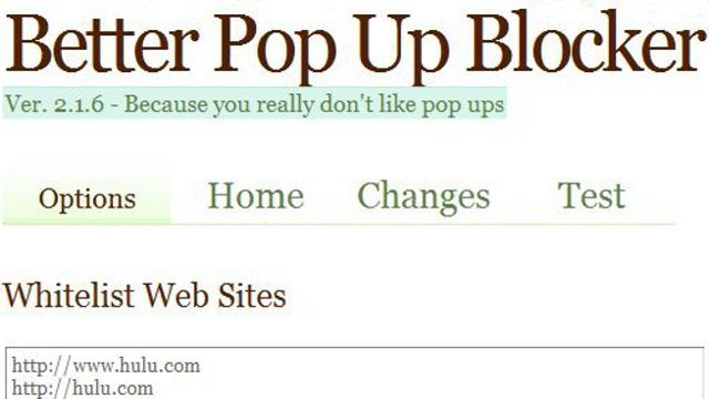 Better Pop Up Blocker Stops Javascript Pop-Ups in Chrome