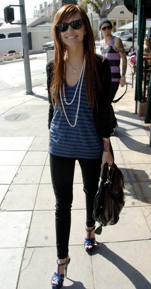 Ashlee Simpson: Big Shades, Big Tattoo, Big Shoes, Big Lips Ashlee Simpson Shoes
