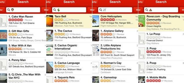 Oh Good, Yelp Now Suggests Businesses Based on Emoji
