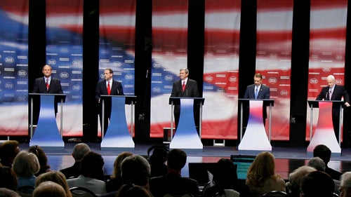 The Final Lineup for Tomorrow's First GOP Presidential Debate