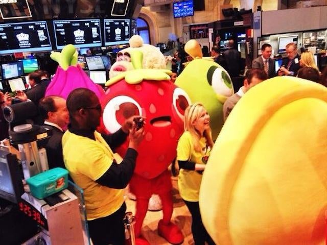 The Candy Crush IPO Is a Nasty Popcorn Jellybean