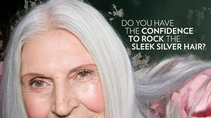 Face It: Going Gray Is a Fierce Act of Bravery