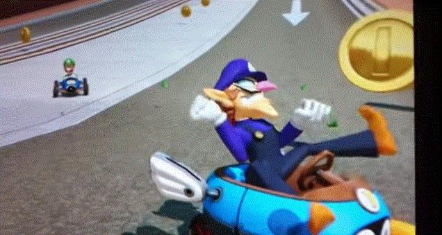 Luigi Is A Huge Jerk In The New Mario Kart
