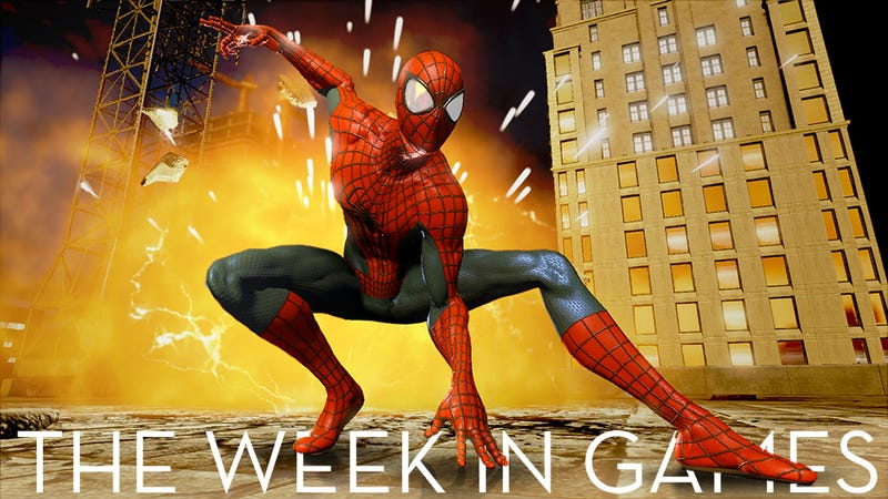 The Week In Games: Spins A Web, Most Any Size