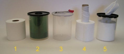 MacGyver Tip: Turn a CD spindle into a TP dispenser