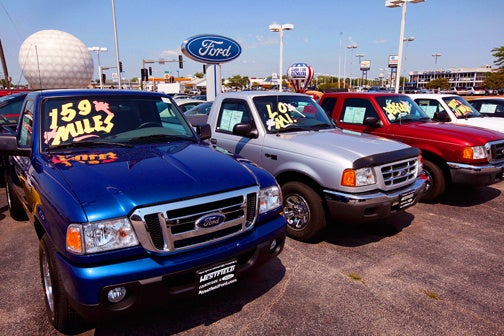 Cash For Clunkers Program Actually Benefiting Truck, Crossover Sales