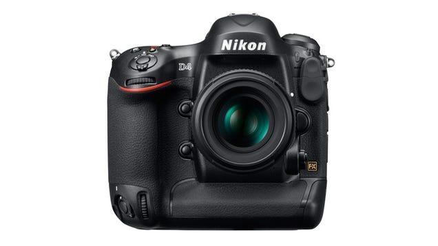 Nikon's $6000 D4 DSLR Stalks Light Wherever It Hides