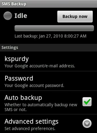 Back Up Your SMS Messages to a Gmail Label on Android