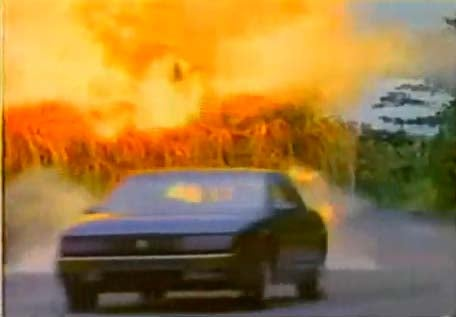 Roger Moore's Daughter Confounds The Baddies In Her '89 Oldsmobile Trofeo