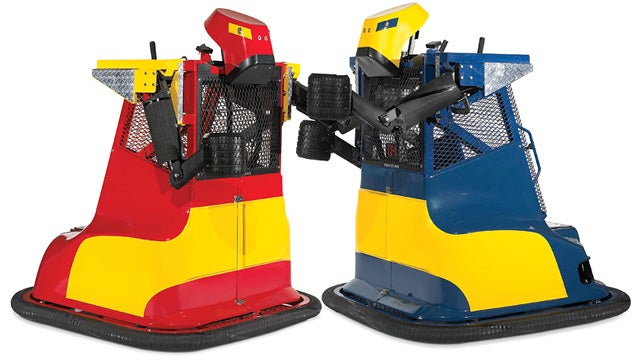 Ridable Rock 'Em Sock 'Em Robots