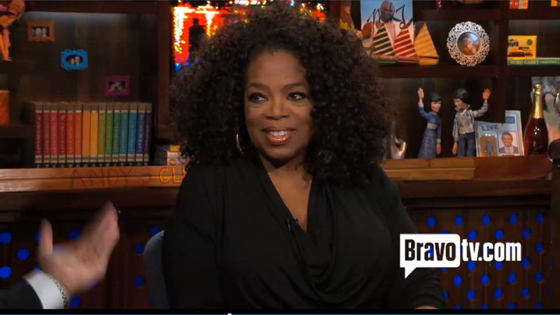 Andy Cohen Got Slapped By Oprah and Thoroughly Enjoyed It