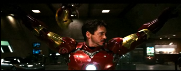 Video: How Iron Man Gets Dressed