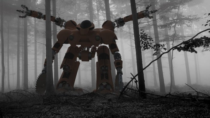 Only A Giant Killer Robot Can Prevent Forest Fires